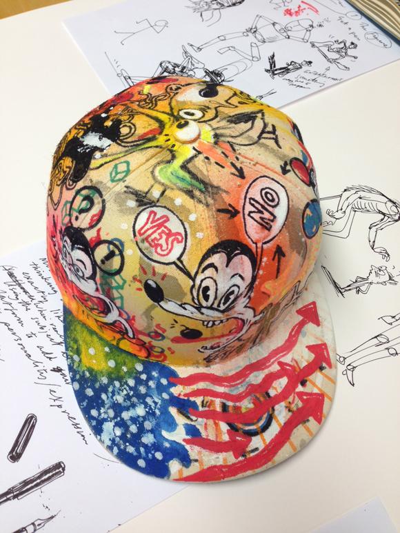 Jim's cap